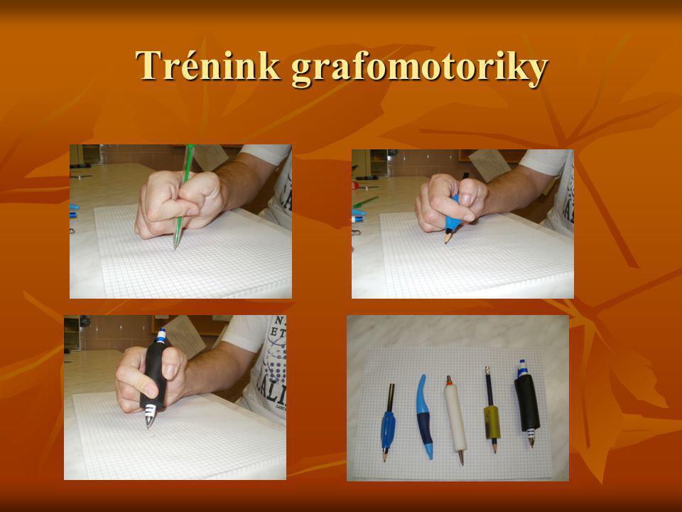 Trénink grafomotoriky