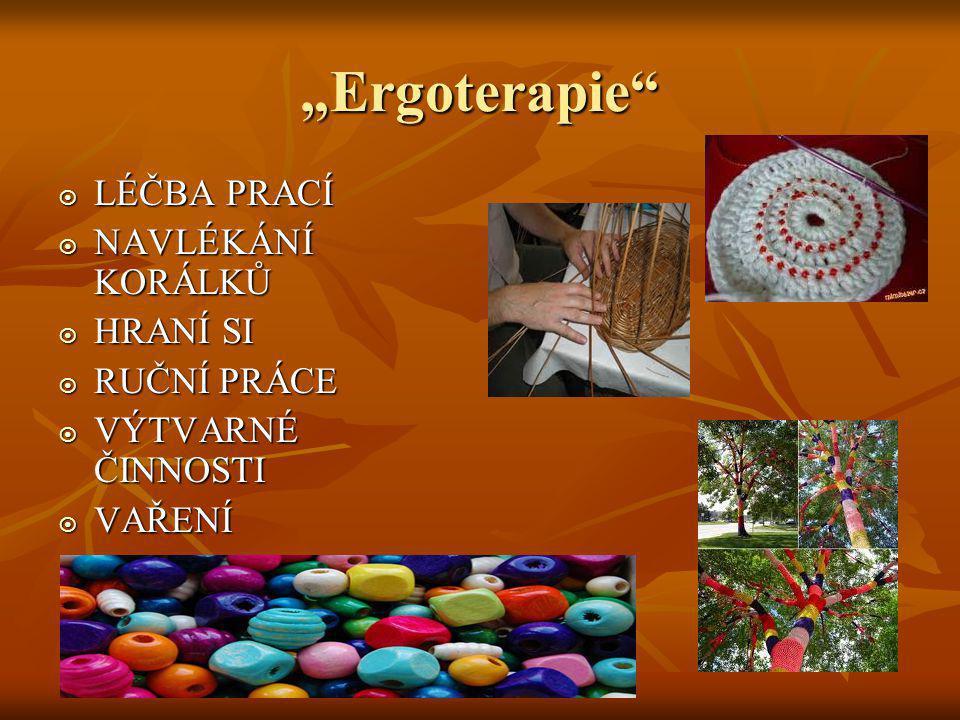 Co je ergoterapie.Ergoterapie je léčebná metoda. Ergoterapie je léčebná metoda.