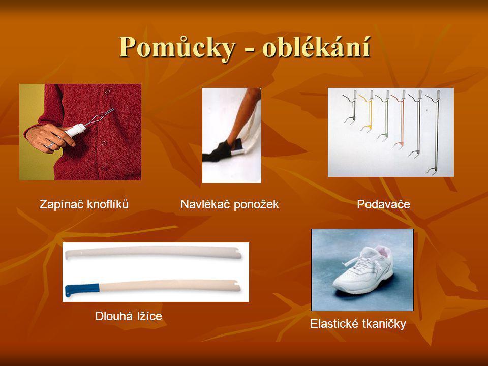 Zapínač knoflíkůPodavače Elastické tkaničky Dlouhá lžíce Pomůcky - oblékání Navlékač ponožek