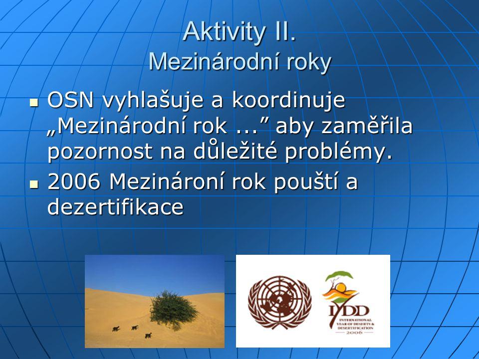 Aktivity II.