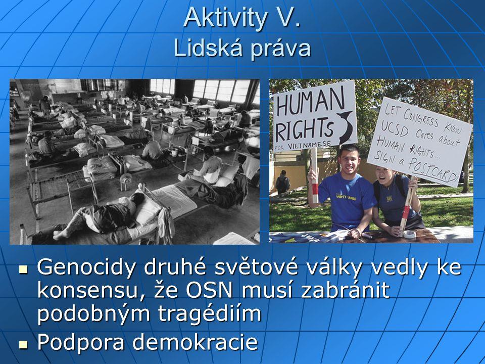 Aktivity V.