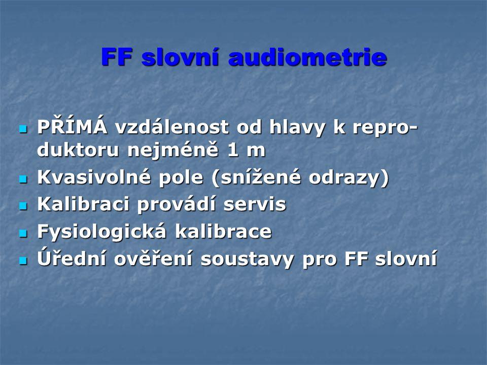 Vkládací (inzertní) audiometrická sluchátka EarTone 5 A Lze použít i v relativně hlučném prostředí (např. měření v terénu, prevence, rizika) Lze použí