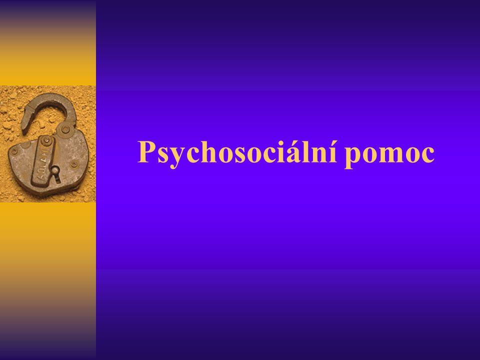 Psychosociální pomoc