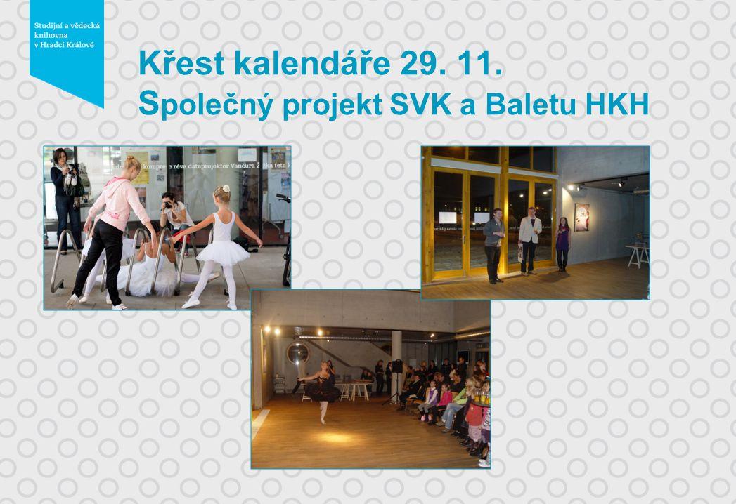 Křest kalendáře 29. 11. S polečný projekt SVK a Baletu HKH