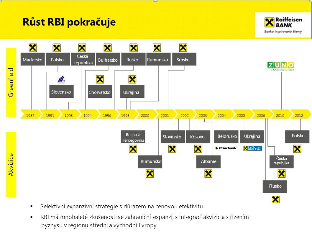 Svět Region CEE přítomnost v 17 zemích v CEE regionu nejširší síť poboček v regionu 125 poboček v České republice RakouskoSlovenskoAlbánieRuskoPolsko Jsme všude, kde nás potřebujete ve 30 zemích světa (včetně korespondenčních bank) více než 3 100 poboček 14,2 milionů klientů 60 000 zaměstnanců