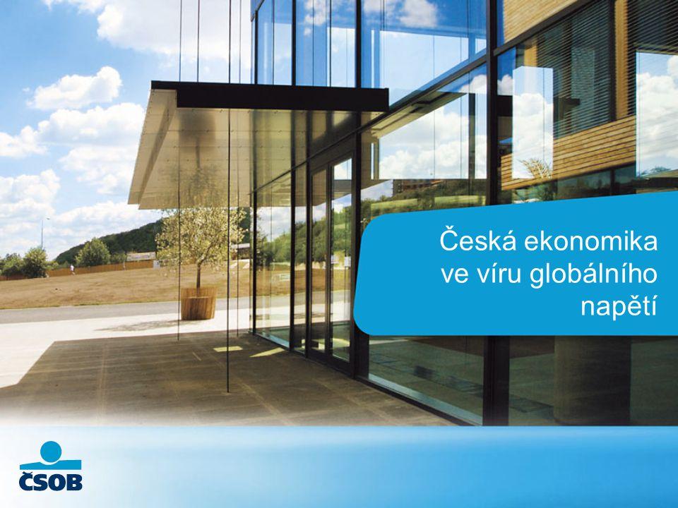 Jan Bureš l Výhled české ekonomiky l 2 Scénář W opět v centru pozornosti ?