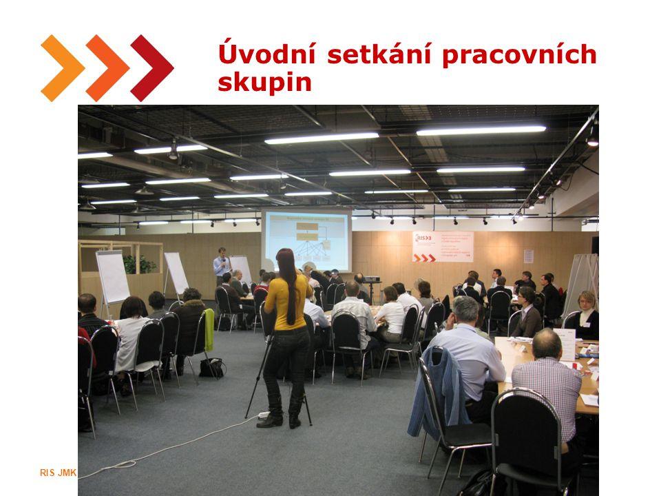 12 Úvodní setkání pracovních skupin RIS JMK IIIRegionální inovační strategie Jihomoravského kraje
