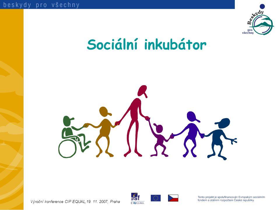Sociální inkubátor Výroční konference CIP EQUAL,19. 11. 2007, Praha