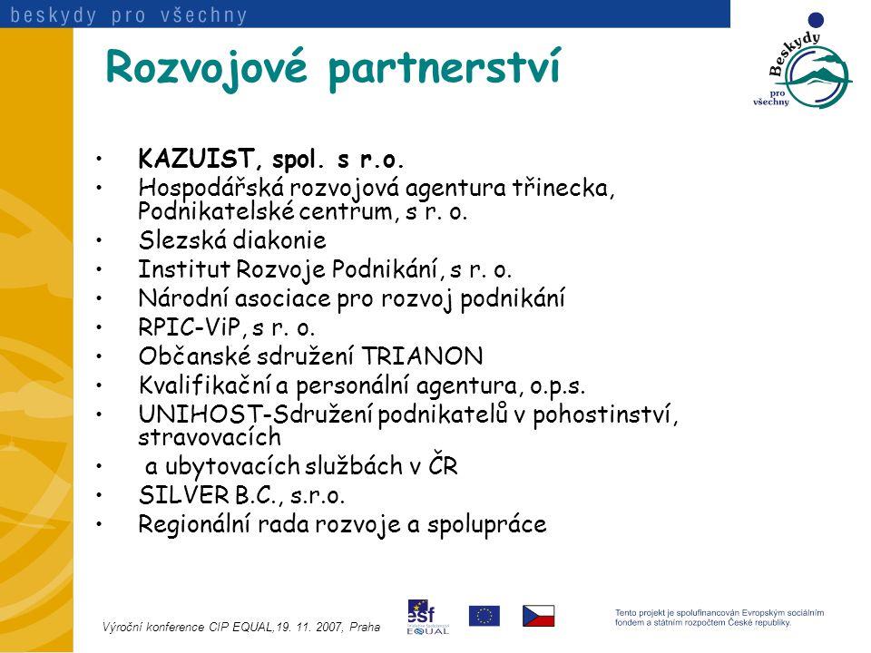 Rozvojové partnerství KAZUIST, spol. s r.o.