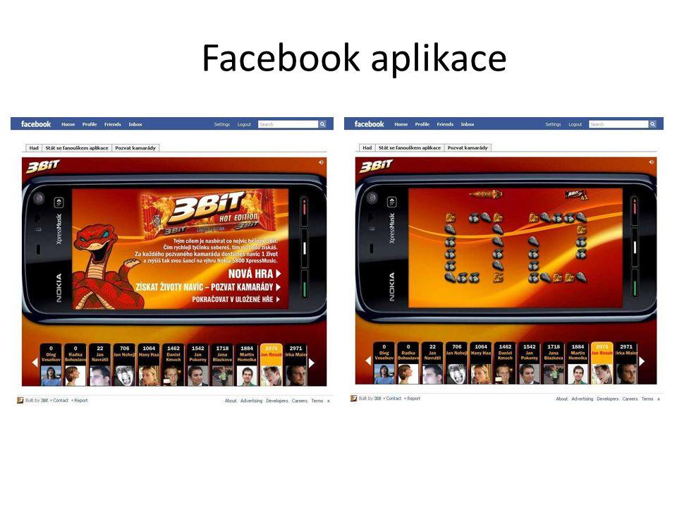 Facebook aplikace