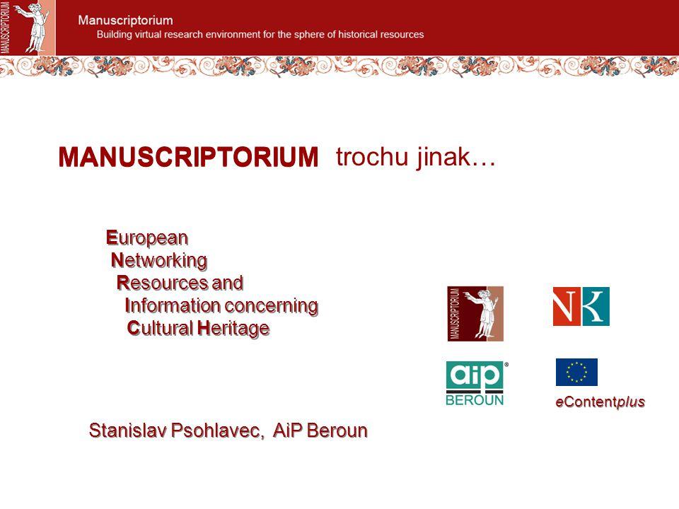 Pre-ENRICHENRICH with associated partners ENRICH content development