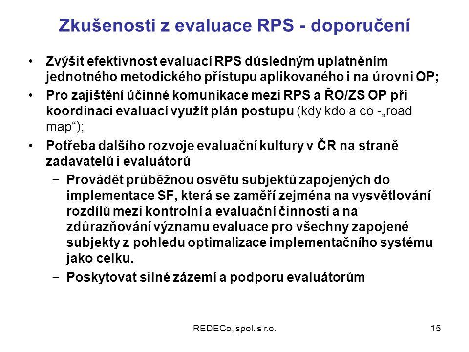 REDECo, spol.s r.o.16 Děkujeme Vám za pozornost. Hana Smolková, Tomáš Růžička REDECo, s.r.o.