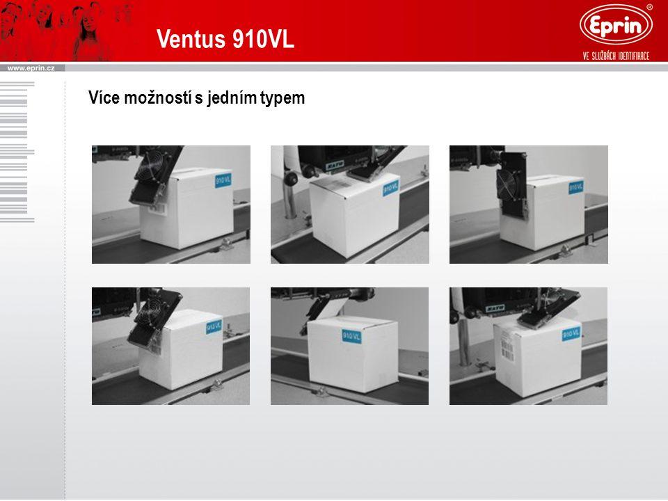 Ventus 910VL Více možností s jedním typem