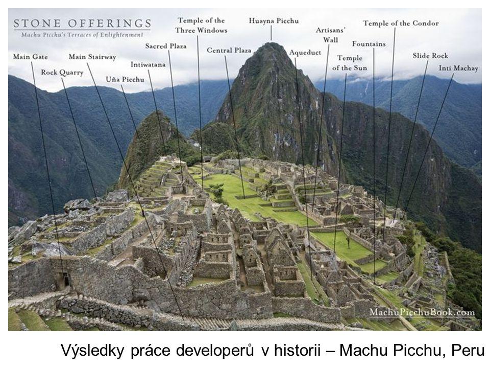 Bruggy, Belgie Výsledky práce developerů v historii – Machu Picchu, Peru