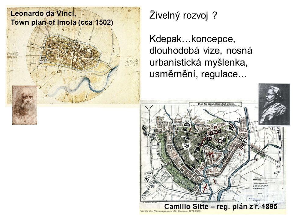 Olomouc - Pražská východ obytná čtvrt developerské spol. ORANGE BOOK
