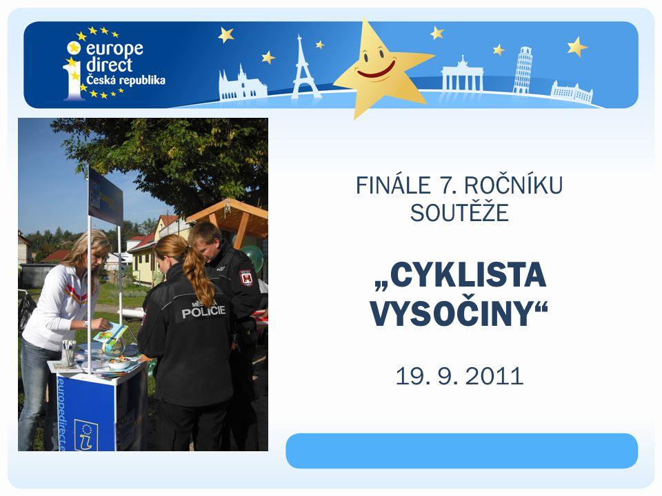 """FINÁLE 7. ROČNÍKU SOUTĚŽE """"CYKLISTA VYSOČINY 19. 9. 2011"""