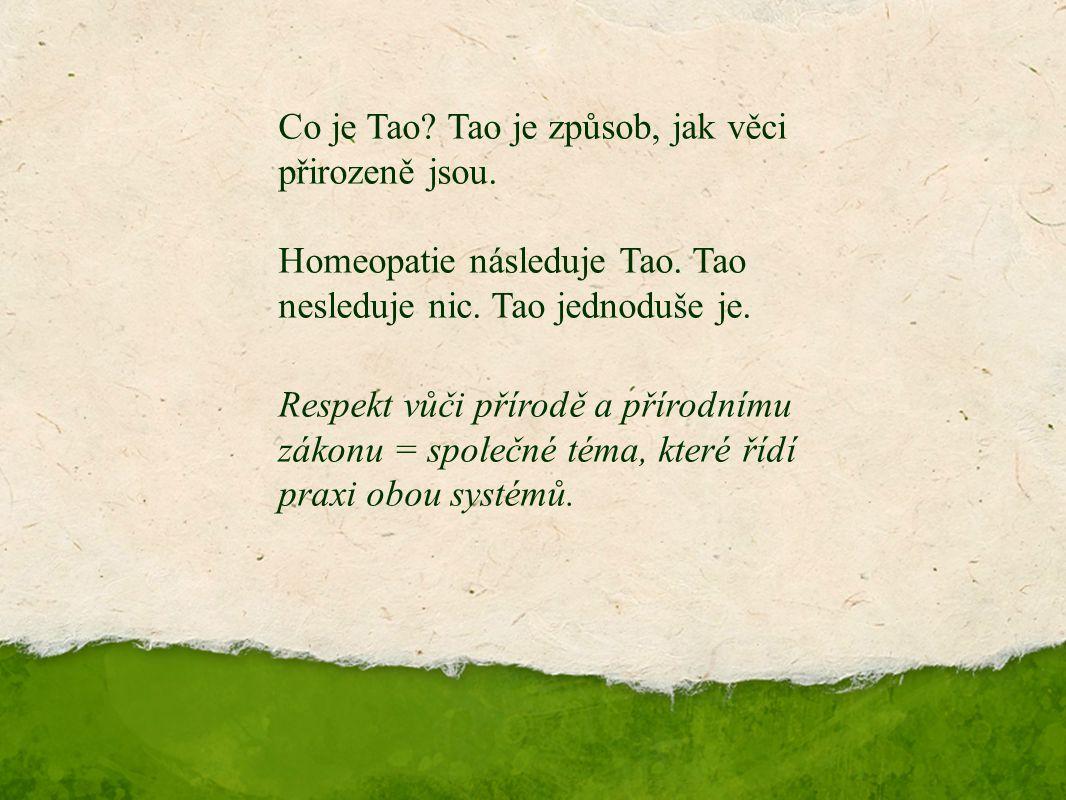 Děkuji za pozornost. Co je Tao. Tao je způsob, jak věci přirozeně jsou.