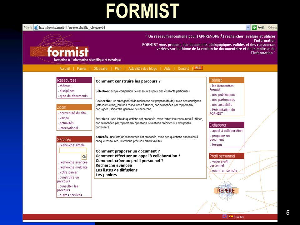 5 FORMIST