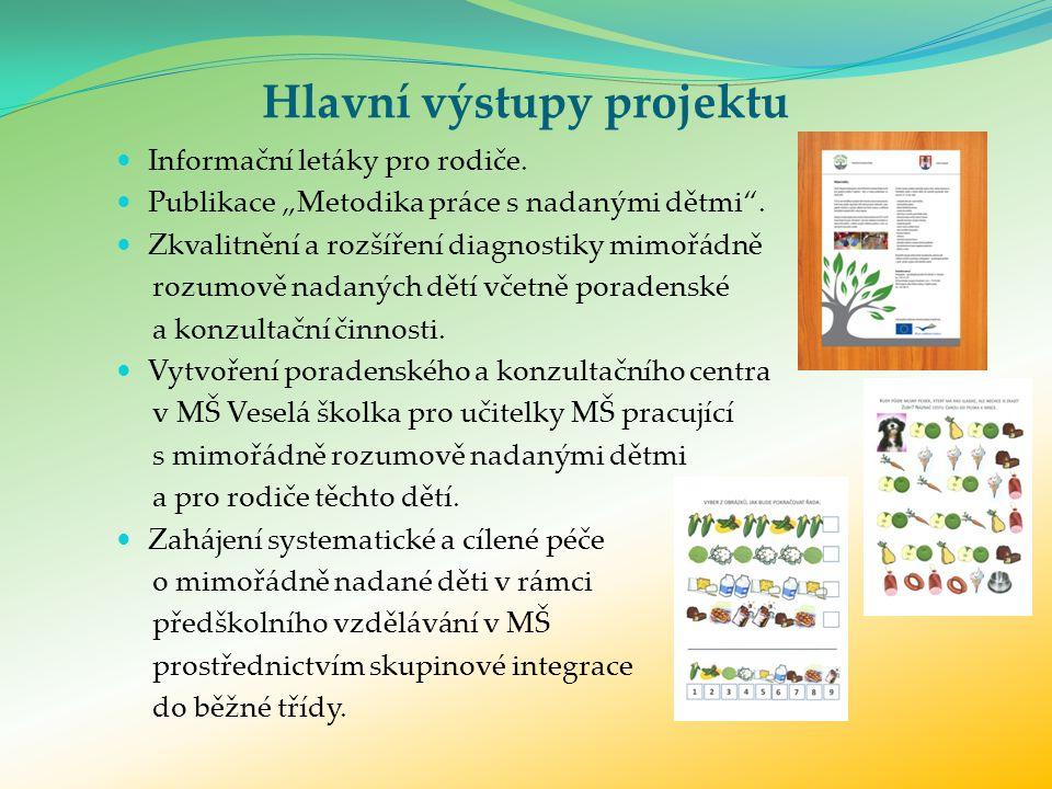 Důležitost propagace a medializace projektu.