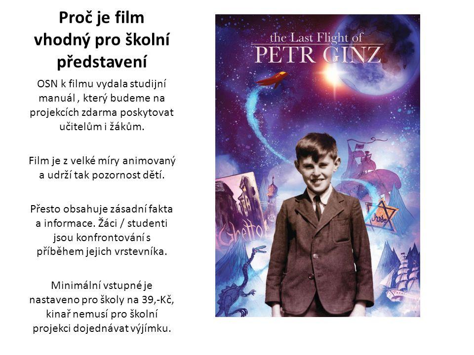 Proč je film vhodný pro školní představení OSN k filmu vydala studijní manuál, který budeme na projekcích zdarma poskytovat učitelům i žákům.