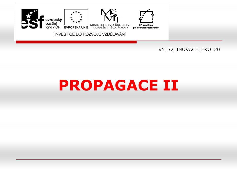 VY_32_INOVACE_EKO_20 PROPAGACE II
