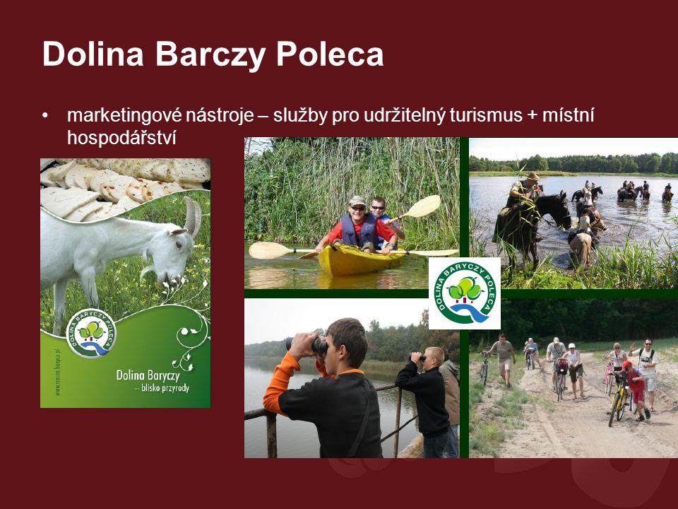 Dolina Barczy Poleca marketingové nástroje – služby pro udržitelný turismus + místní hospodářství