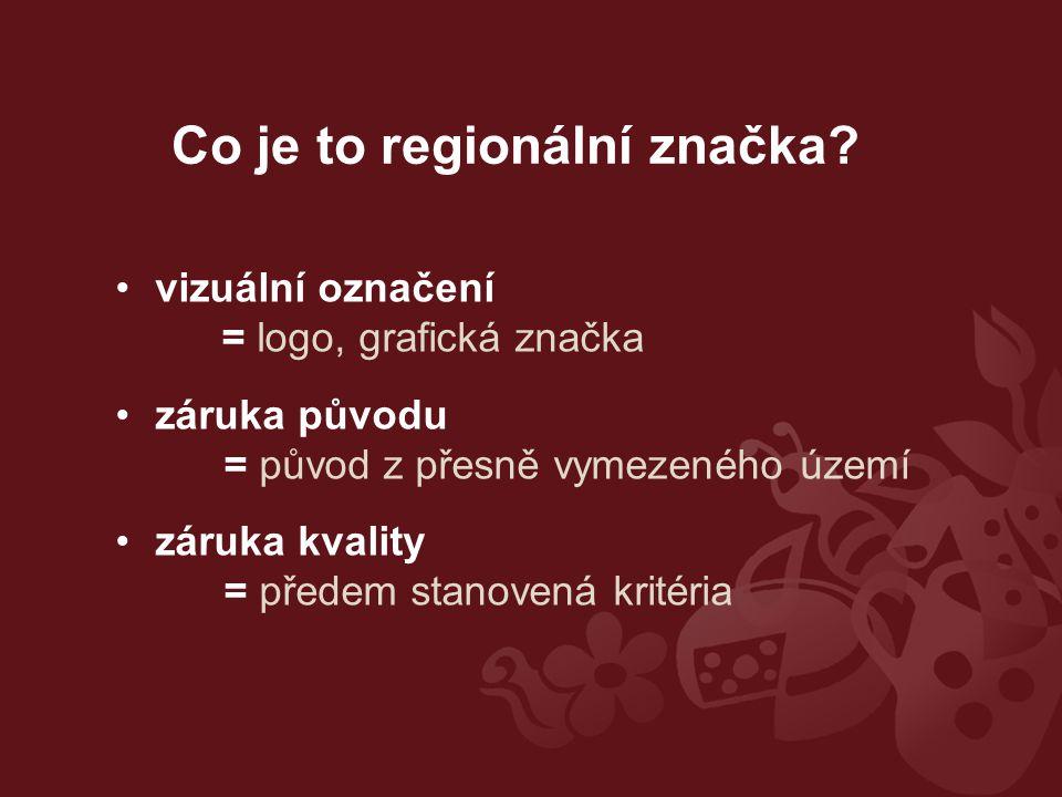 Co je to regionální značka.