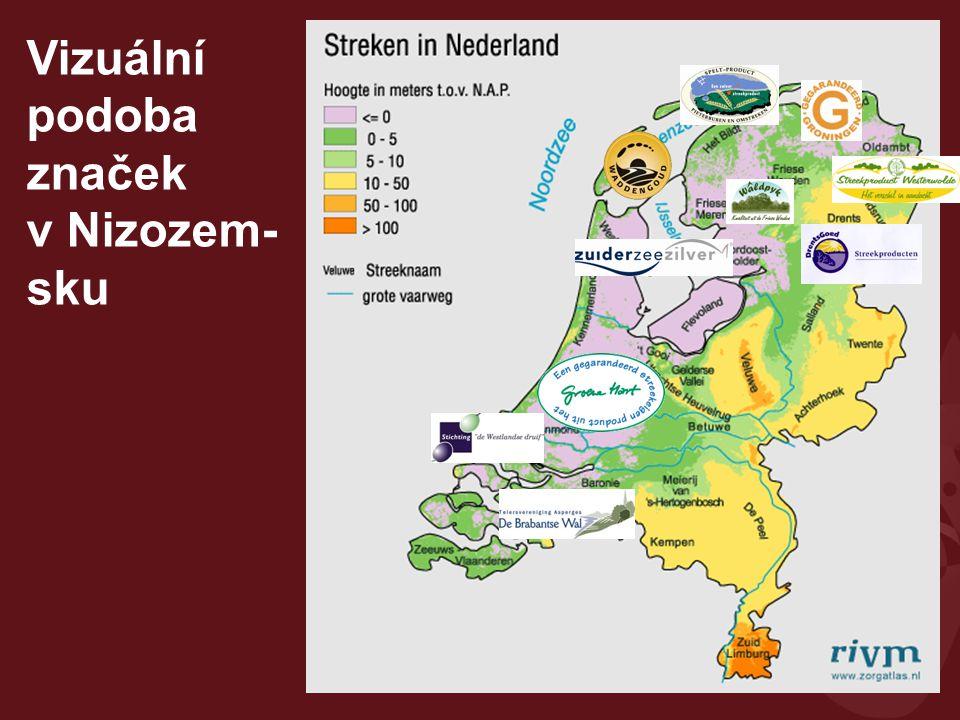 """Nizozemsko Případ texelského jehněčího Ostrov Texel – vyhlášená turistická destinace, texelské jehněčí jako typický produkt, ale v posledních letech vytlačené dovozem z Nového Zélandu Původně prodávané hlavně na ostrově Farmáři se spojili s místním řezníkem (provozovatelem jatek a vytvořili značku """"Pravé texelské jehněčí Podpora MAS z Leaderu (ale pouze 50 %) Zapojení do regionální značky Waddengoud Celkem: 26 producentů jehněčího – tj."""