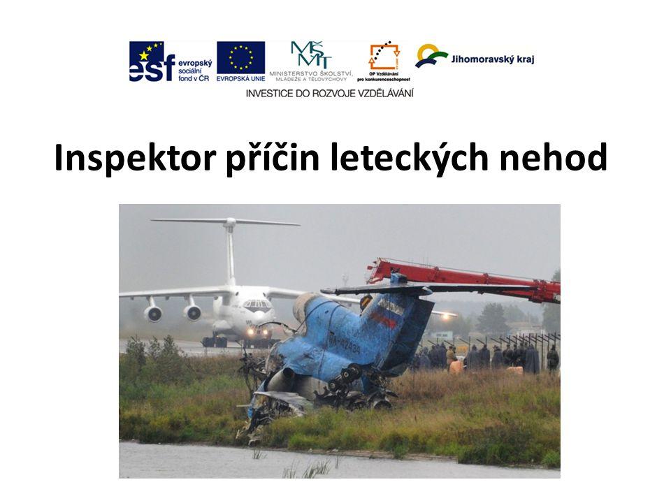 Inspektor příčin leteckých nehod