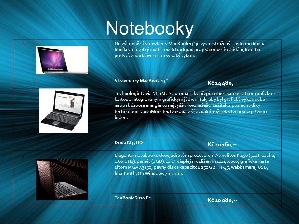 Notebooky 1.Nejvýkonnější Strawberry MacBook 13 je vysoustružený z jednoho bloku hliníku, má velký multi-touch trackpad pro jednodušší ovládání, kvalitní podsvícenou klávesnici a vysoký výkon.