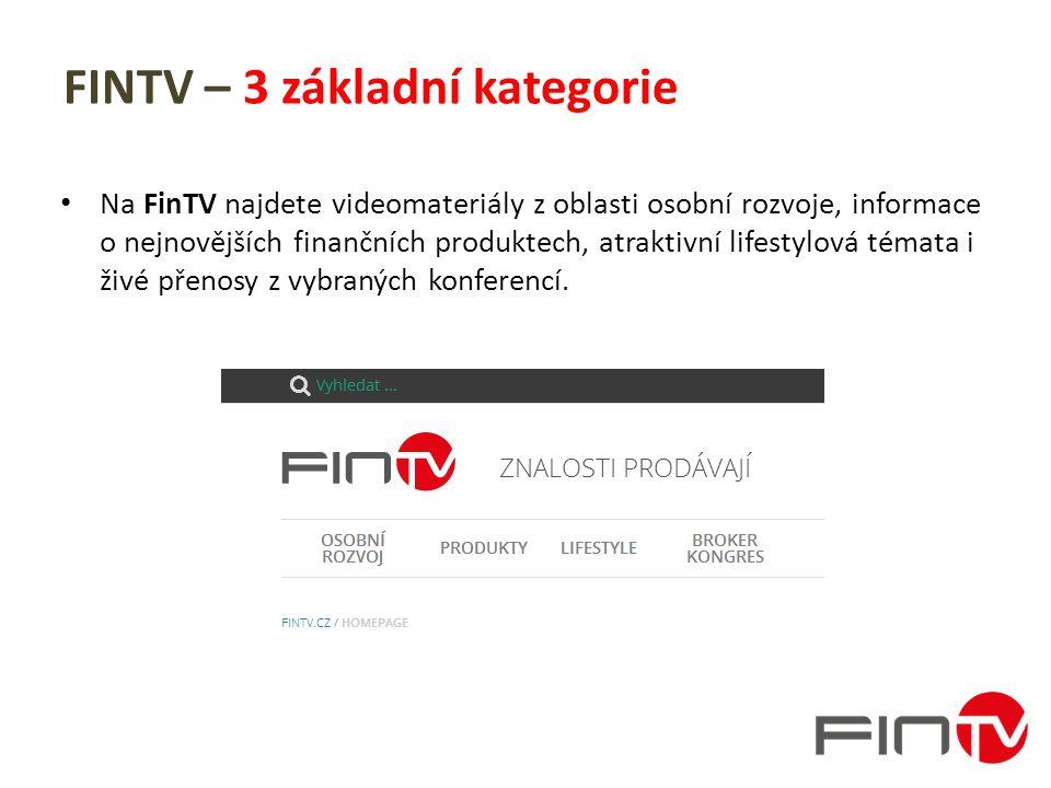 FINTV – kategorie: Osobní rozvoj Videa zaměřená na zlepšení komunikačních schopností, prodejních dovedností a řízení firmy.
