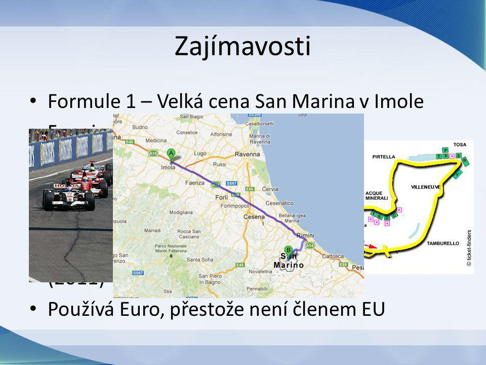 Zajímavosti Formule 1 – Velká cena San Marina v Imole 5.