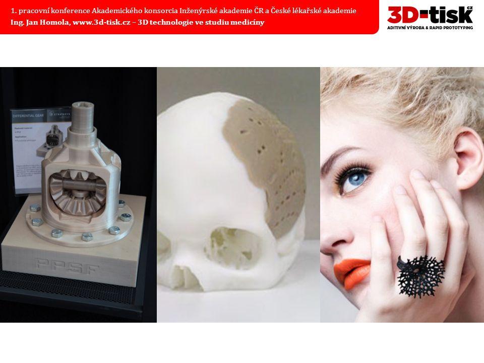 Produktivní 3D tisk v medicíně 1.