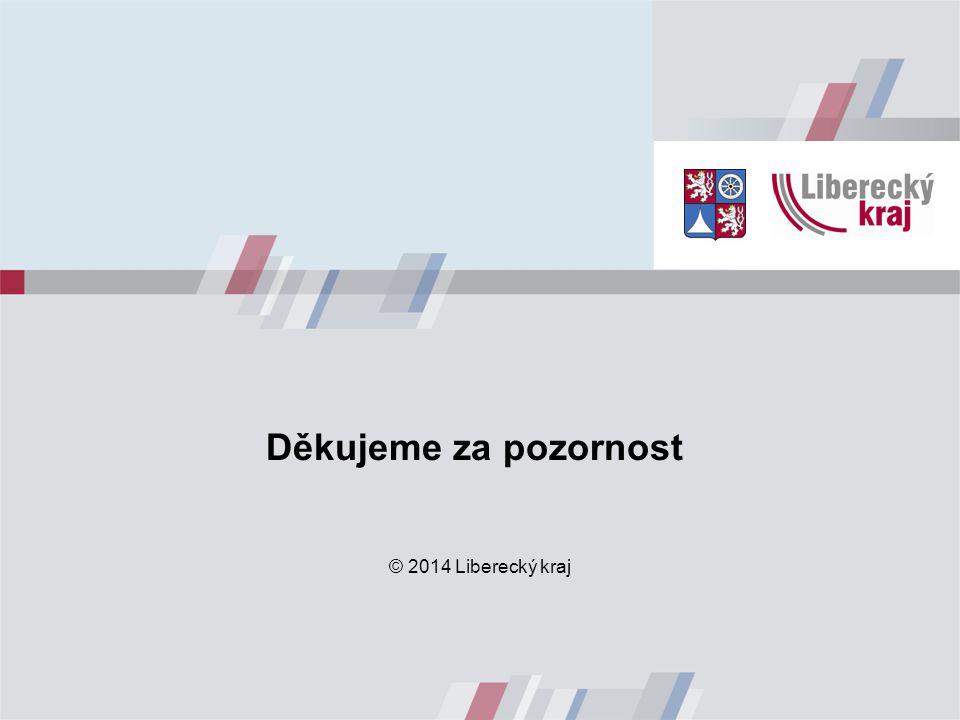 Děkujeme za pozornost © 2014 Liberecký kraj