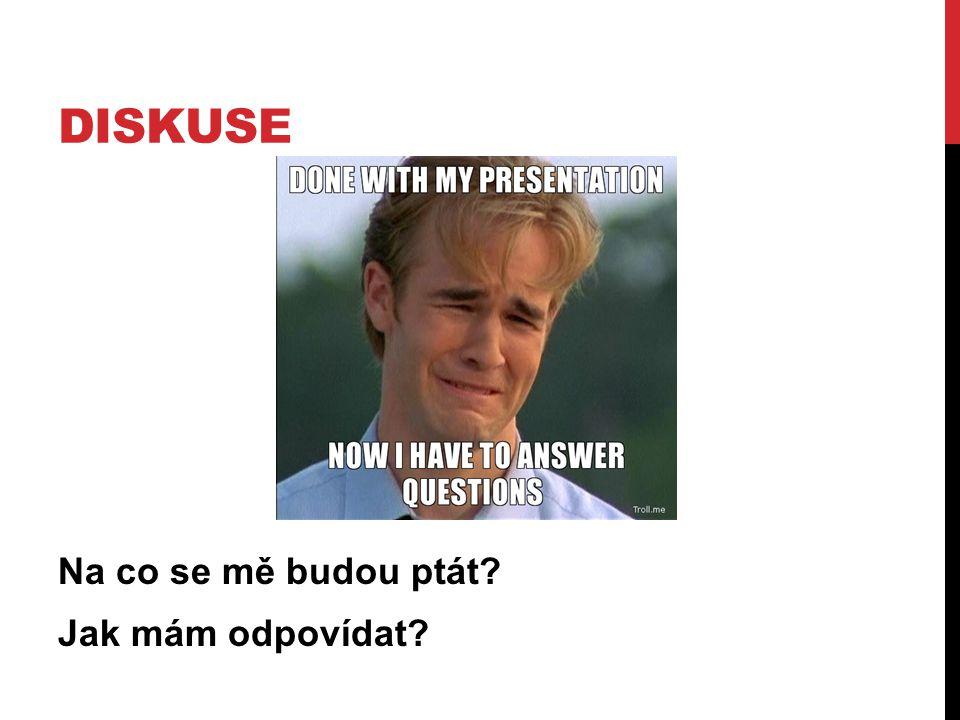 Na co se mě budou ptát? Jak mám odpovídat?