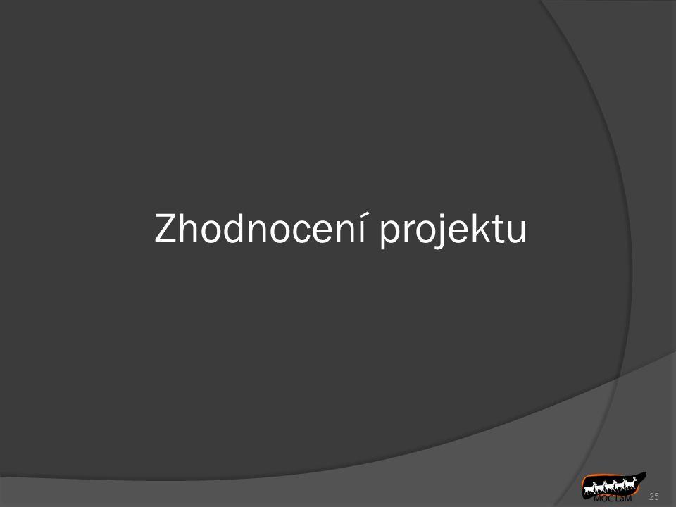 Zhodnocení projektu 25