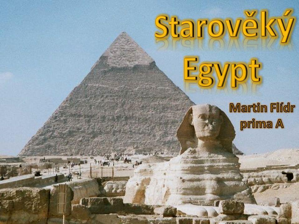 Osnova Základní údaje Úvod Faraoni Egyptští bohové Hieroglify François Champollion Papyrus Pyramidy Mumifikace Egyptské malířství Egyptská kultura Významná města Starověkého Egypta