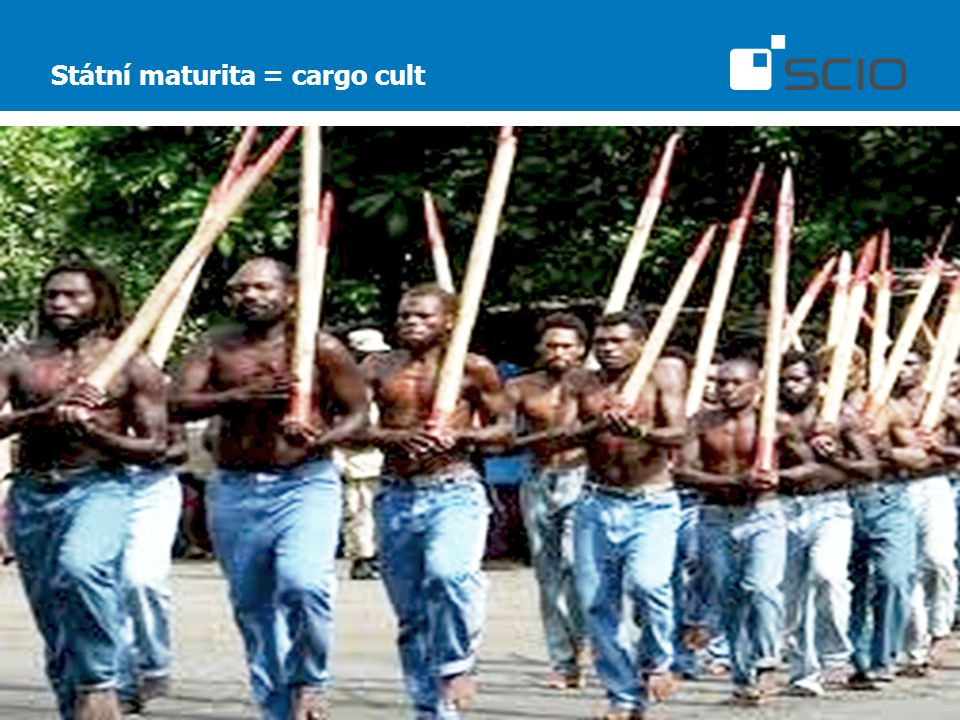 Státní maturita = cargo cult
