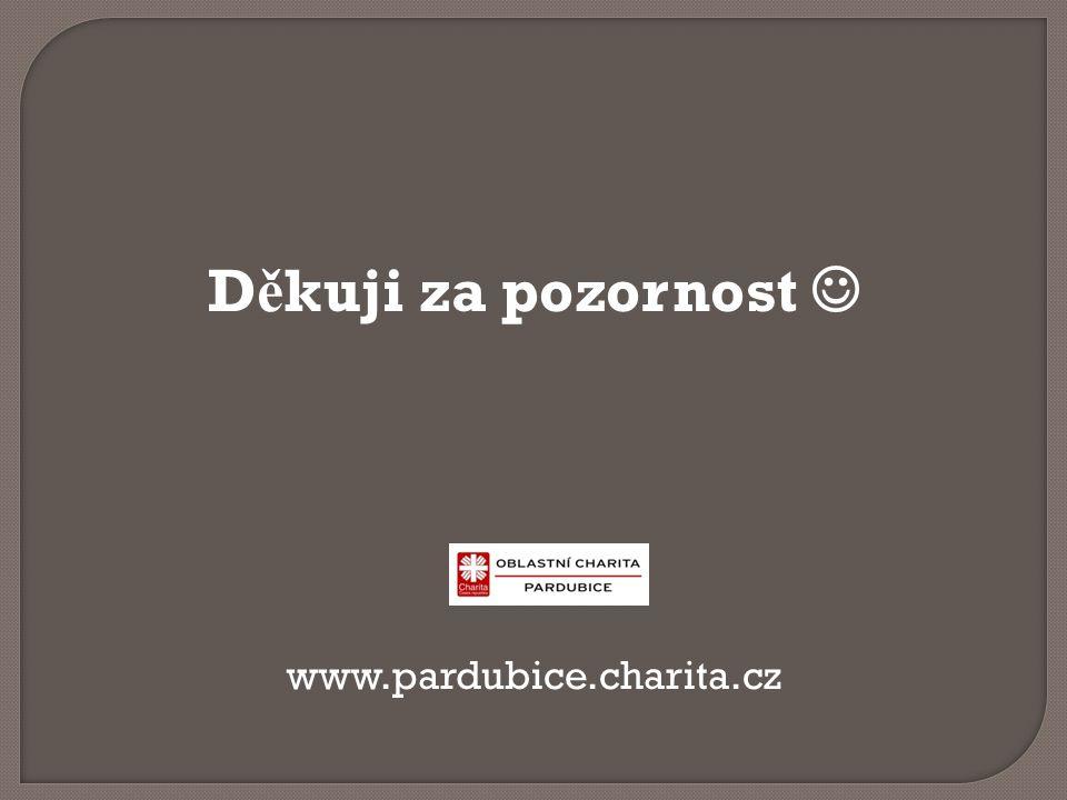 D ě kuji za pozornost www.pardubice.charita.cz