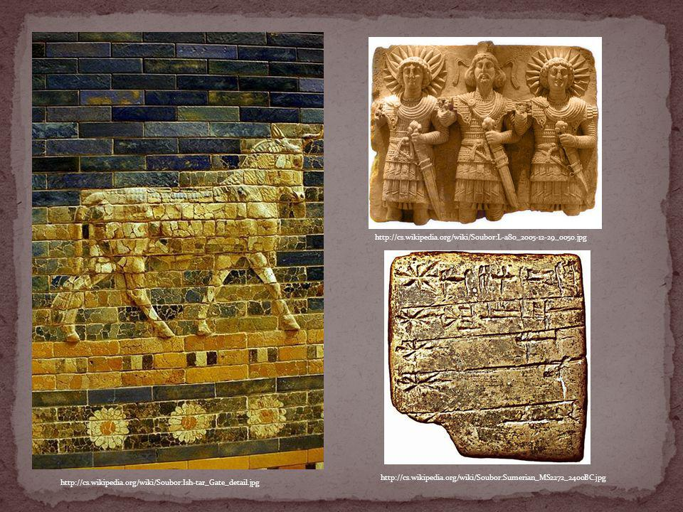 http://cs.wikipedia.org/wiki/Soubor:Sumerian_MS2272_2400BC.jpg http://cs.wikipedia.org/wiki/Soubor:L-a80_2005-12-29_0050.jpg http://cs.wikipedia.org/w