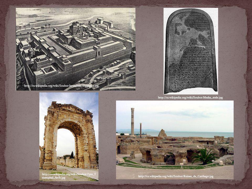 http://cs.wikipedia.org/wiki/Soubor:Jerusalem_Ugglan_1.jpg http://cs.wikipedia.org/wiki/Soubor:Mesha_stele.jpg http://cs.wikipedia.org/wiki/Soubor:Tyr