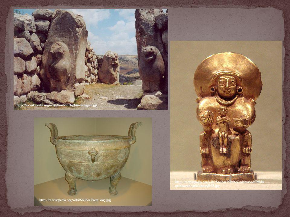 http://cs.wikipedia.org/wiki/Soubor:Hattusa.liongate.jpg http://cs.wikipedia.org/wiki/Soubor:HittiteGoddessAndChildA natolia15th-13thCenturyBCE.jpg ht