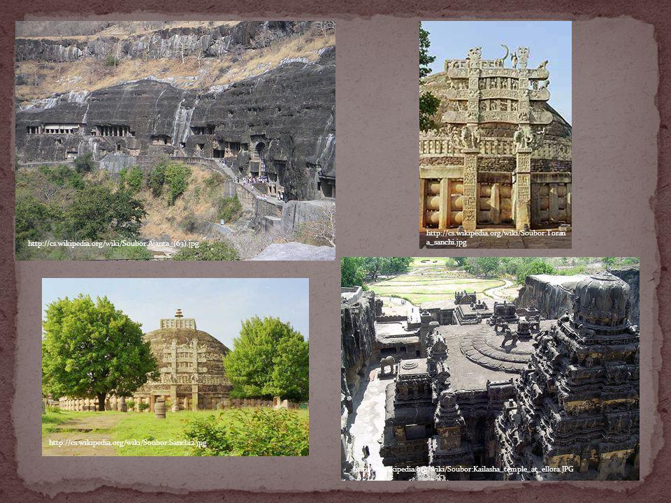 http://cs.wikipedia.org/wiki/Soubor:Ajanta_(63).jpg http://cs.wikipedia.org/wiki/Soubor:Kailasha_temple_at_ellora.JPG http://cs.wikipedia.org/wiki/Sou