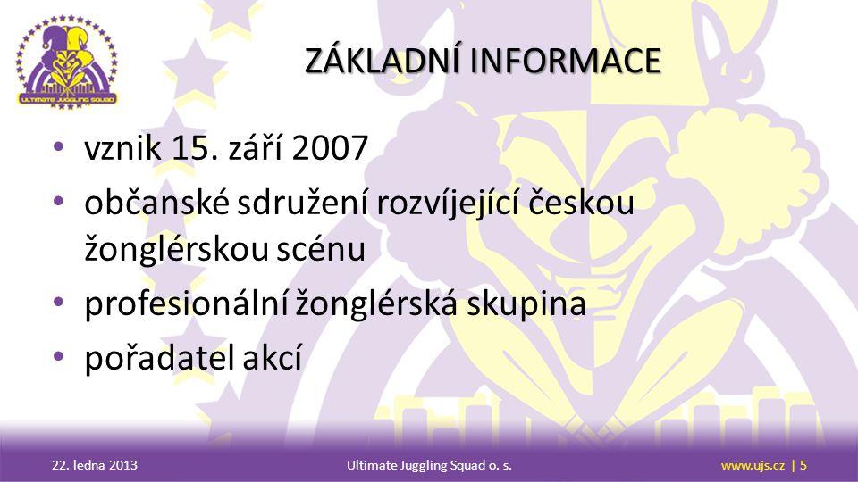 ČINNOST A CÍLE činnosti a cíle občanského sdružení 22.