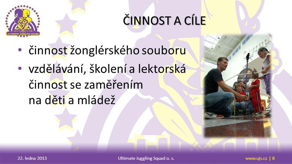 AKCE podrobnosti o pořádaných akcích 22. ledna 2013Ultimate Juggling Squad o. s.www.ujs.cz | 9