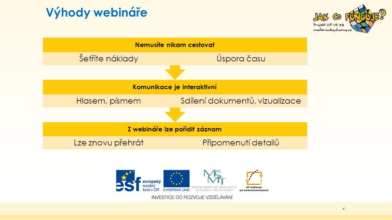 """Webinář v projektu """"Jak co funguje Využíváme aplikaci Lync Web App Podrobný návod jak se přihlásit na mateřinky.dumy.cz 42"""