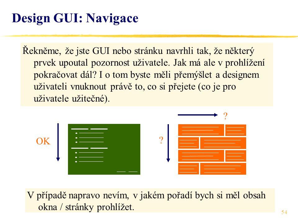 54 Řekněme, že jste GUI nebo stránku navrhli tak, že některý prvek upoutal pozornost uživatele.