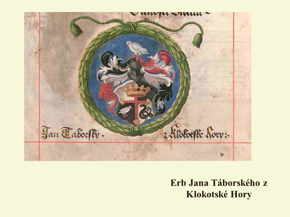 Erb Jana Táborského z Klokotské Hory
