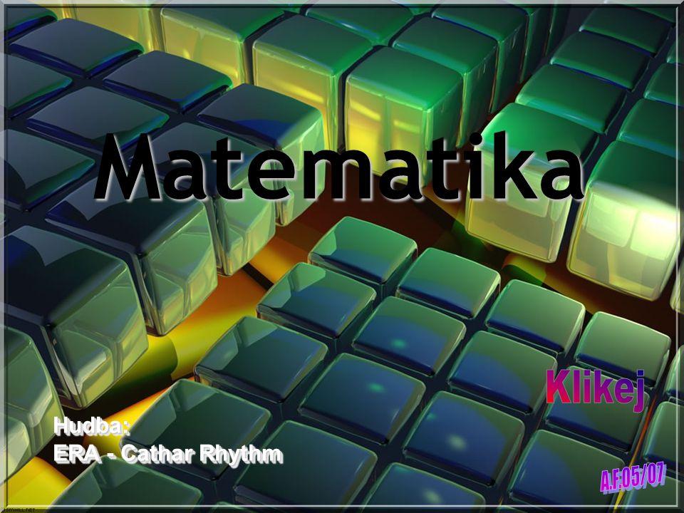 Matematika Hudba: ERA - Cathar Rhythm Hudba: ERA - Cathar Rhythm
