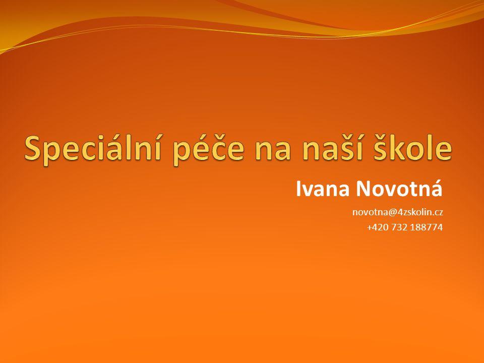 Ivana Novotná novotna@4zskolin.cz +420 732 188774